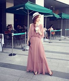 Hey, I found this really awesome Etsy listing at http://www.etsy.com/es/listing/128028388/womens-pink-chiffon-long-skirt