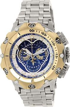 01cedb6339b Invicta Venom Chronograph Blue Dial Stainless Steel Mens Watch 16808 Review  Most Popular Mens Watches