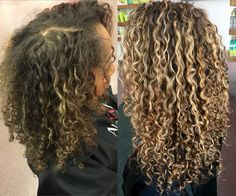 "285 Likes, 22 Comments - Rachael (@rachael_devacurl) on Instagram: ""Before & After """