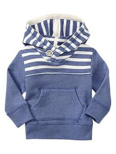 Striped terry hoodie | Gap