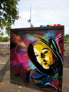 STREET ART UTOPIA » We declare the world as our canvasstreet_art_by_c215_4 » STREET ART UTOPIA