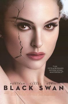 Black Swan Cracked Natalie Portman Movie Poster 24x36