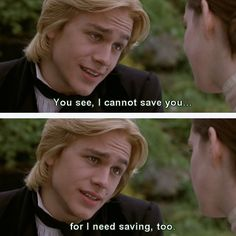 Nicholas Nickleby: See I cannot save you. For I need saving too. - Charlie Hunnam, Nicholas Nickleby - Nicholas Nickleby directed by Douglas McGrath Novel by Charles Dickens Period Movies, Period Dramas, Brad Pitt, Charlie Sons Of Anarchy, Robert Hardy, Anastasia Musical, Nicholas Nickleby, Romantic Movie Quotes, The Only Exception