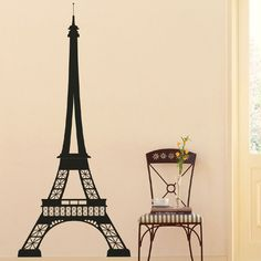 Wall Decals: Eiffel Tower