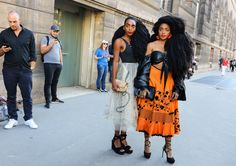 TK Wonder and Cipriana Quann in are absolutely FEARLESS in Dior