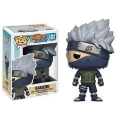 POP Anime: Naruto Shippuden Kakashi from Funko! Figure stands 3 Inch and comes in a window display box. Check out the other POP figures from Funko! Collect them all. Naruto Kakashi, Anime Naruto, Naruto Shippuden, Boruto, Kakashi Sharingan, Anime Fnaf, Anime Toys, Figurine Pop Manga, Figurine Naruto