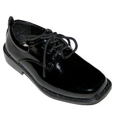 TOPSELLER! Tip Top, Black Patent Dress Oxford Shoes $15.01