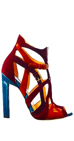 ❤ SHOES Brian Atwood  colour heels                                                                                                                                                      More