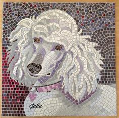 Mosaic of Julia by her Mom, Sally T. I love this!