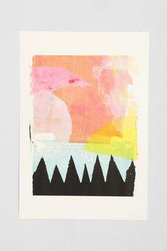 Ashley Goldberg Early Morning Art Print