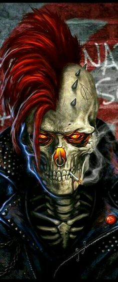❣Julianne McPeters❣ no pin limits He's like ghost rider O O 0 Ghost Rider Wallpaper, Skull Wallpaper, Arte Horror, Horror Art, Dark Fantasy Art, Dark Art, Arte Punk, Skull Pictures, Skull Artwork