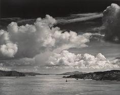 Ansel Adams, The Golden Gate Before the Bridge, San Francisco, California, ca. 1932