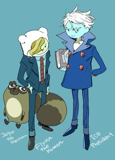 Adventure Time : Flynn and Jacque
