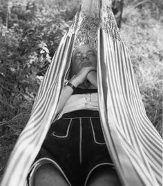 erika schmied: thomas bernhard Thomas Bernhard, Outdoor Furniture, Outdoor Decor, Hanging Chair, Hammock, Paradise, Lost, Bed, People