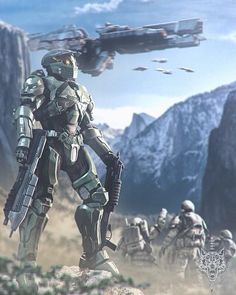 Halo Master Chief, Halo Game, Halo 3, Anime Expo, The Legend Of Zelda, Metal Gear Solid, Sci Fi Fantasy, Fantasy World, Space Marine