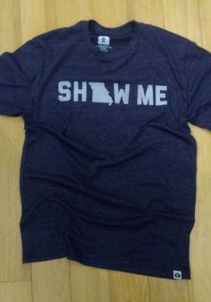 Missouri Navy Show Me Short Sleeve T Shirt - 5718164