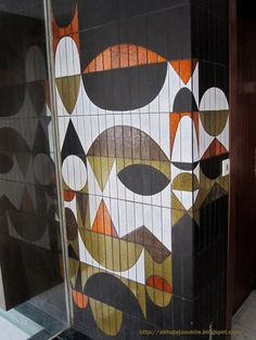 665 Best Mid-Century Modern Pottery & Ceramics images in 2020 Mid Century Modern Art, Mid Century Art, Mid Century Design, Floor Patterns, Tile Patterns, Textures Patterns, Ceramic Wall Art, Deco Design, Design Trends