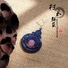 青花瓷―耳坠