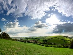 Panoramic taken from the top of Mill Lane Teignmouth. Explored