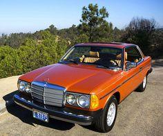 1980 Mercedes-Benz Diesel Coupe in Inca Red Metallic Old Mercedes, Mercedes Benz Maybach, Classic Mercedes, Diesel, Mercedes Benz Classes, Custom Mercedes, M Benz, Mercedez Benz, Daimler Benz