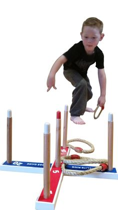 Elite Ring Toss / Quoits Game For Kids and Adults