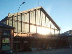 Estación de Delicias, ahora Museo del Ferrocarril. Madrid