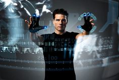 9 Minority Report Inspired Touchless Technology