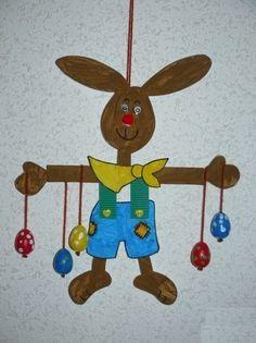 Etape 2 - Le lapin de Pâques et ses oeufs