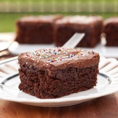The BEST Chocolate Cake You Will Ever Eat. It's name says it all!