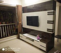 Tv Unit Furniture Design, Tv Unit Interior Design, Tv Wall Design, Tv Furniture, Tv Cupboard Design, Lcd Panel Design, Modern Tv Wall Units, Tv Unit Decor, Living Room Tv Unit Designs