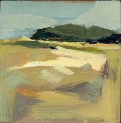 """One Lane Gravel Road #880"" -- Lisa Daria Kennedy. I love the  feelings that her paintings evoke"
