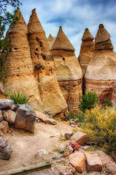 Tent Rocks in New Mexico LiberatingDivineConsciousness.com