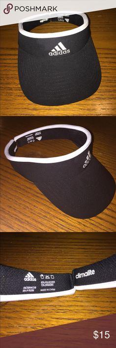 Adidas Visor NWOT black & white classic style Adidas ClimaLite visor cap. Adidas Accessories Hats