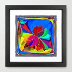 Re-Created ButterfliesXVIII  #Framed #Art #Print by #Robert #S. #Lee - $35.00