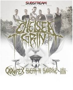 Chelsea Grin and Sworn In announce the Ashes to Ashes tour presented by Substream