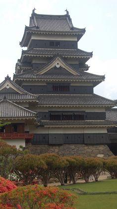 palace, castle, matsumoto, honshu, japan