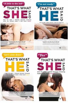 """Consent Bulletin Board Title--A great spoof of """"That's what she said"""" by the Sexual Wellness Advocacy Team at The University of Oregon. Faith In Humanity Restored, Intersectional Feminism, Pro Choice, Sex And Love, Couple, Social Issues, Social Justice, Equality, Thoughts"""
