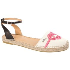 Longchamp Espadrilles Summer 2015. I think this is a must this summer. Love the ankle strap.