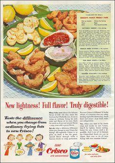 Crisco <> Good Housekeeping Magazine - April 1953