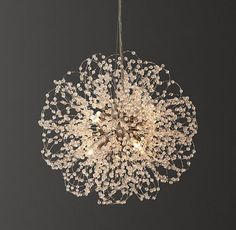 Ceiling Beams, Led Ceiling, Happy Birthday Flower Cake, Crystal Beads, Crystals, Classic Lighting, Chandelier Lighting, Chandelier Ideas, Chandeliers