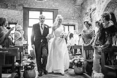 romantic purple and white wedding with photos by Daniele Del Castillo | via junebugweddings.com