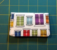 Business Card Holder Tutorial from Material Girl