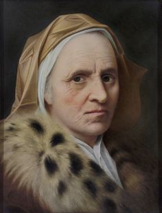 """Portrait of an Old Woman, after Balthasar Denner (1685–1749). I wondered what it would be like to collect a handful of the many paintings simply titled """"Portrait of an Old Woman"""", and mostly let the faces speak for themselves."""