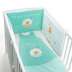Contorno de berço, Petit Poisson deviendra Grand R baby - Contornos de cama