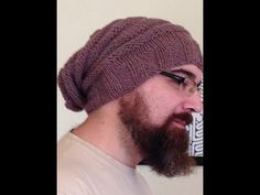 Bonnet homme torsades tricot / Beanie for man easy knit Knitted Hats, Winter Hats, Beanie, Knitting, Youtube, Fashion, Crochet Cap, Crochet Lace, Scarves