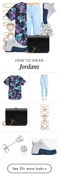 """""""Wavy """" by dashaye-2013 on Polyvore featuring Amanda Rose Collection, Accessorize, PacSun, NIKE and Mulberry"""