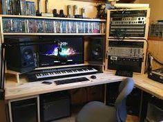 Producer Desk Wood Brown Google Search Bray Merritt Recording Studio Furniture Ideas
