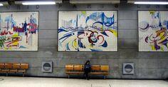 Linha Azul (Metropolitano de Lisboa) – Wikipédia, a enciclopédia livre pt.wikipedia.org1600 × 829Pesquisar por imagens Arte e bancos em Restauradores, término original da rede