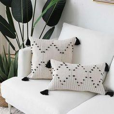 Geometric Cushions, Boho Cushions, Geometric Pillow, Throw Cushions, Modern Cushions, Minimalist Pillows, Patchwork Pillow, Diy Embroidered Pillow, Pillow Embroidery