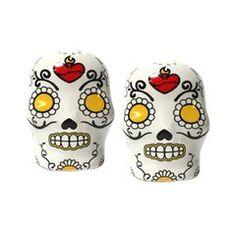 Salt & Pepper Sugar skulls